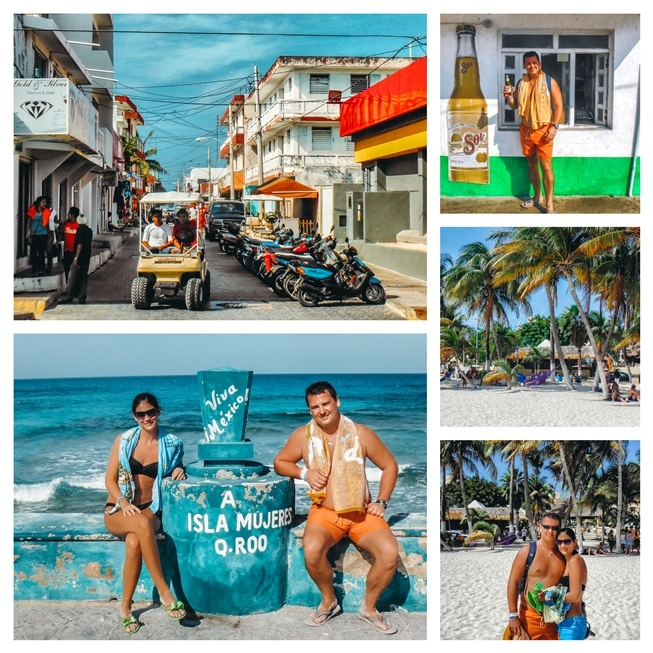 Walking around the town is one of the best things to do in Isla Mujeres because this unique place has relaxed vibes. You can also find a lot of shops, bars and restaurants here.