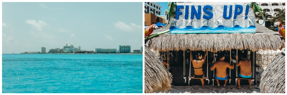 keeping cool in Cancun