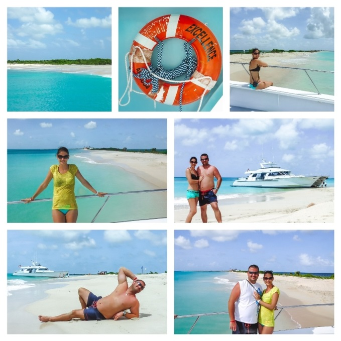 Excellence Catamaran tour to Barbuda offers a day triip to the island from Antigua