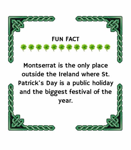 Montserrat island fun fact