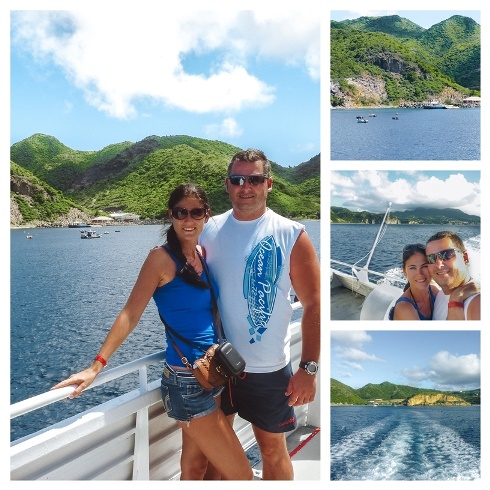 ferry to Montserrat island