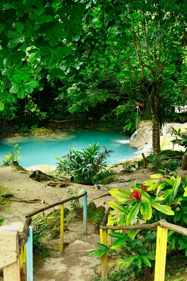 Blue Hole in the mountains is undoubtedly top attraction in Ochi because this this secret fall is an excellent escape from busy Ocho Rios