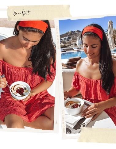 breakfast at OSOM resort