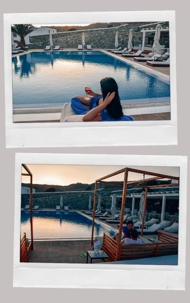 OSOM Resort pool views