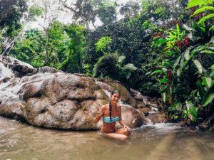 natural pool at Dunns River Falls