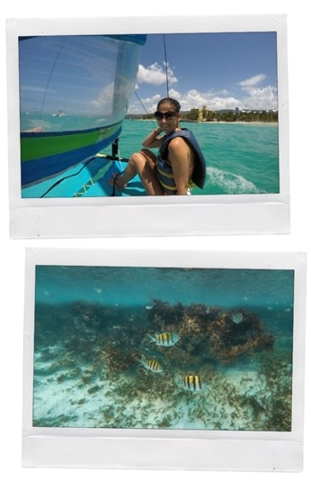 watersports and snorkelling