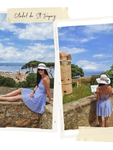 Citadel de St Tropez offers excellent views of the town.