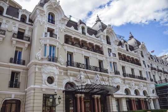 The Hotel de Paris