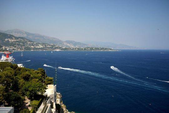 Monaco in French Riviera