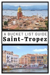 what to do in Saint Tropez France: visit a traditional provencal market, enjoy day on one of the sandy beaches this town is famous for. St Tropez is also home to a picturesque Citadelle, Musee de la Gendarmerie. It also has a stunning Old Port where you can see many celebriities.