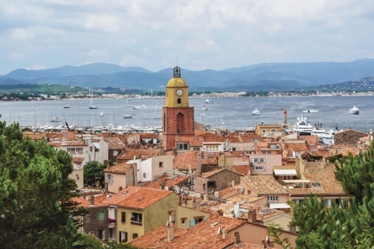 A visit to Eglise de Notre-Dame de l`Assomption is one of the best things to do in Saint Tropez because you can admire the bust of the town`s patron saint inside of the church. Also, this 18-th century church has a beautiful Italian Baroque bell tower.
