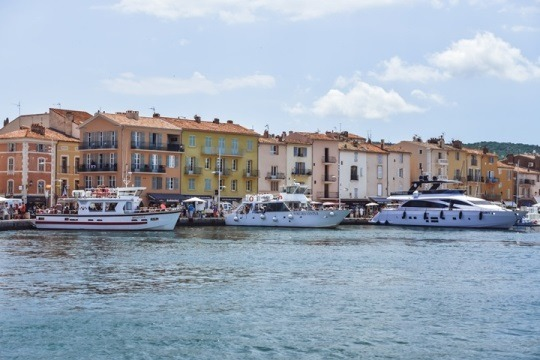 port in Saint Tropez, France