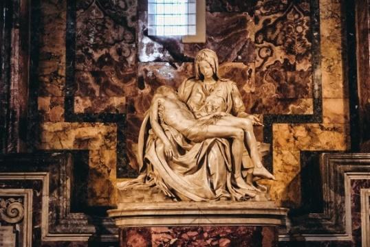 Pieta Vatican by Michelangelo