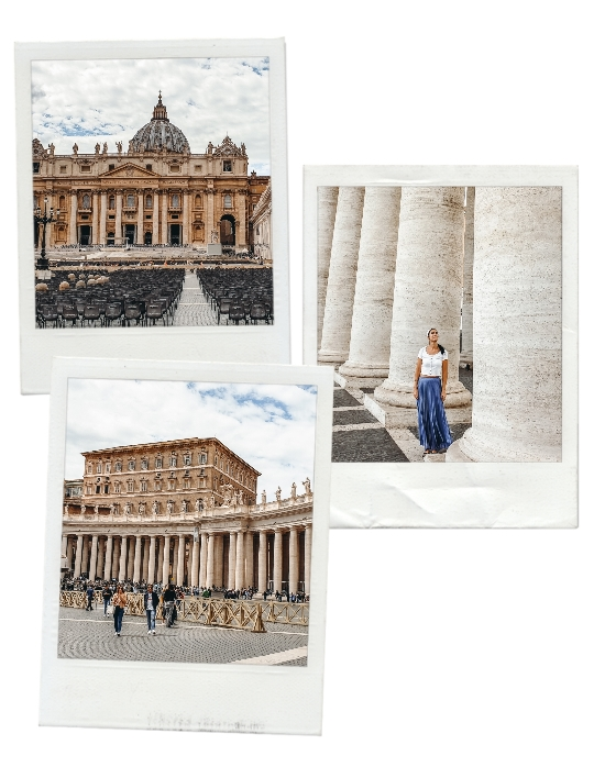 St Peter`s square is one of top attractions in Vatican because the renowned square was designed by Bernini (one of the greatest Italian sculptors and architects). Also, it`s one of the largest squares in the world.