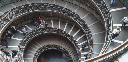 Vatican Museums spirat staircase