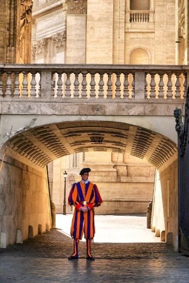 swiss guard uniform