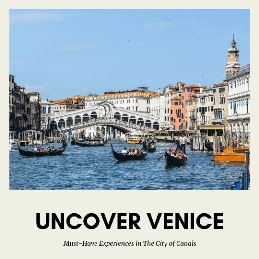 Secrets of Venice: If you are planning a trip to Venice, you don`t want to miss this must have experiences in the city of canls. Here is your guide to Venice.