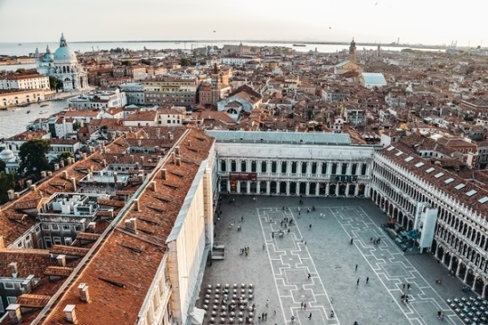 things to do in Venice: A visit to St Marks square is best things to do because this is the most famous square in Venice. Besides, the largest piazza in the city witnessed countless Carnival festivals. Along with some of Venice`s most recognizable landmarks, elegant historic buildings, stylish shops and pricey cafes, it is a place where everybody gathers.