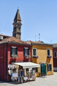 Leaning tower is one of the best things to see in Burano because One of the symbols of the island.