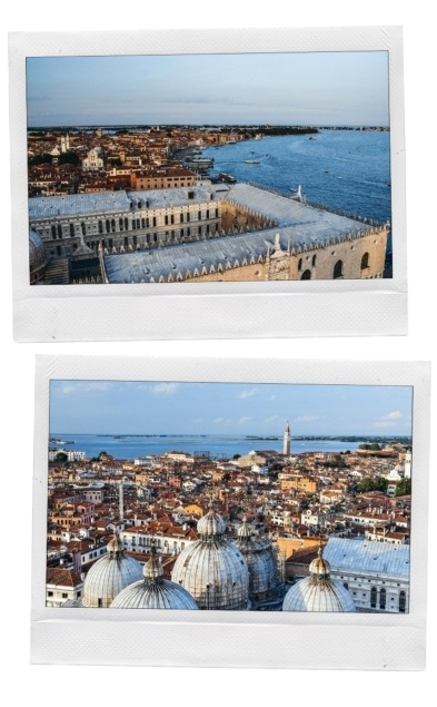 top attractions in Venice: Those who would like to see a 360-degree panoramic view of Venice need take an elevator to the top of the Campanile. The cost for touring the Campanile, where Galileo demonstrated his telescope to the Doge, is € 8 for adults. The iconic tower offers breathtakings views of Venice and, therefore, it`s a unmissable thing to see in Venice.