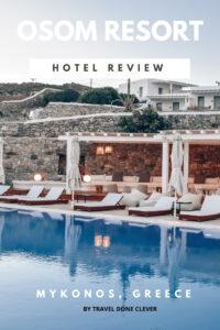 where to stay: OSOM Resort, Ornos