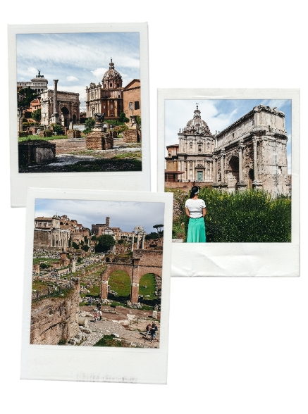 things to do in Rome Italy: one of the best things to do in Rome Italy is to visit the Roman Forum because the Forum used to be the centre of power and life in ancient Rome.
