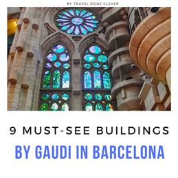 Unmissable architecture by Gaudi in Barcelona
