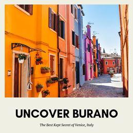 Burano the most colourful European island