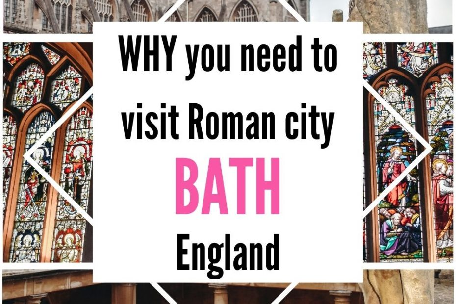 Unmissable things to do in Bath UK: uncover unmissable things to see and do in Roman city of Bath in Englad.