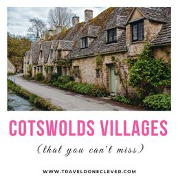 three days in cotswolds: discover the best Cotswolds villages