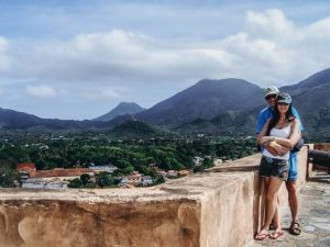 Isla Margarita in Venezuela: Fort Santa Rosa The Fort of Santa Rosa was built by the Spaniards to protect Isla Margarita island from the pirates. The colonial castle, with several cannons, is a place full of history. Therefore, it is a must`see attraction on the island.