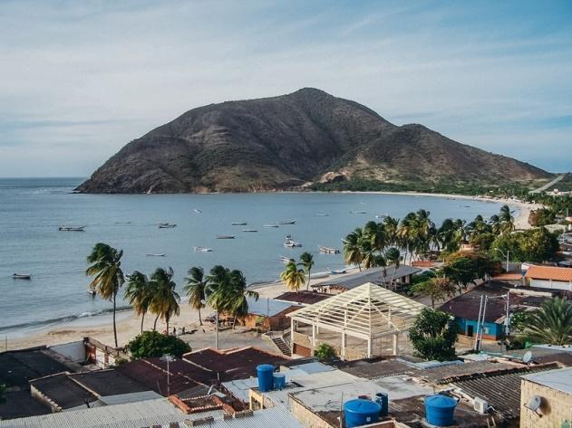 day trip to Margarita Island Venezuela: Playa Galera, Juangriego Bay