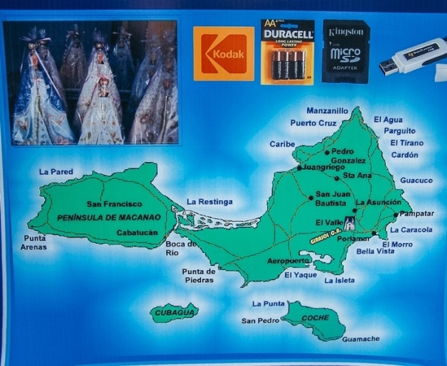isla Margarita map