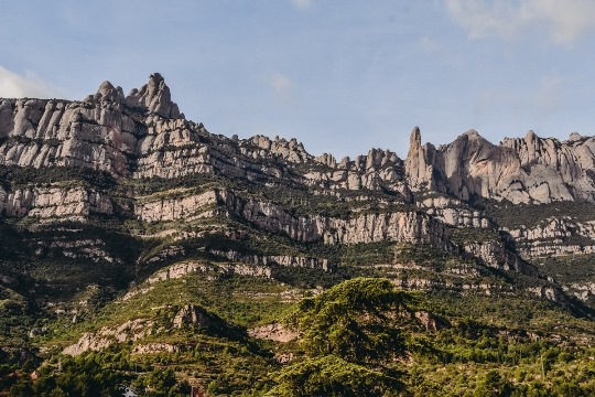 Montserrat mountain hike in Spain
