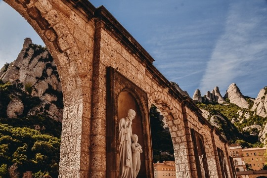 Montserrat in Spain: Montserrat in Spain is one of the biggest travel surprises while in Barcelona. Although it can get crowded during the day, a vist to Monserrat in Spain needs to be on your list, even if you are non-believers.