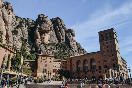 Montserrat in Spain: Montserrat monastry is one of the best things to see in Spain, because the legend has it that the statue of St. Mary was discovered in a cave on Montserrat Mountain, and the monastery sprang up around it. The holy place has been gaining in popularity ever since.