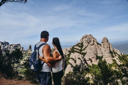 hiking in Montserrat in Spain: Hiking is one of the best things to do in Montserrat in Spain because you can find here some of the bet hiking areas in Spain. Besides, Montserrat National Park is also known as one of the most beautiufl regions in Catalonia.