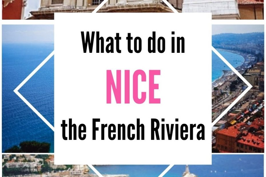 Discover hidden attractions in Nice in France together with the famoust must-see atractions in this charmiing coastal town on the French Riviera.
