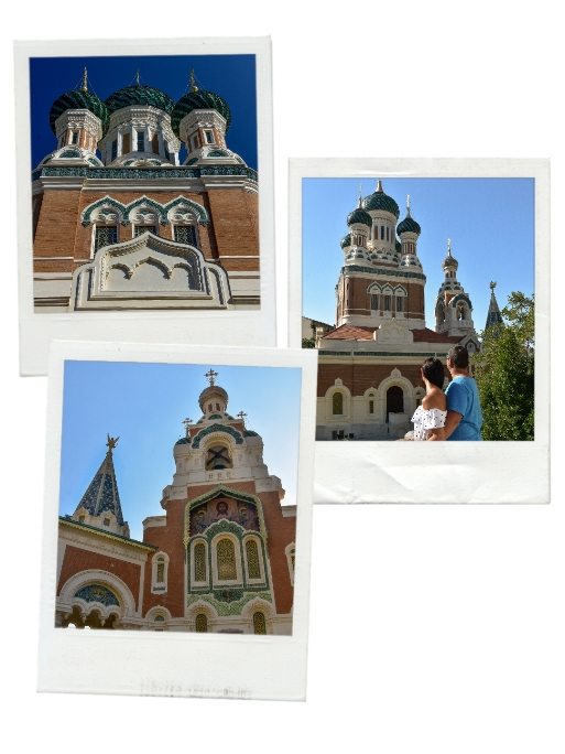 Russion Orthodox Cathedral is one of the most photogenic places in Nice