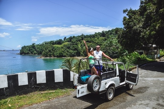 around the island tour is a must when in Tobago