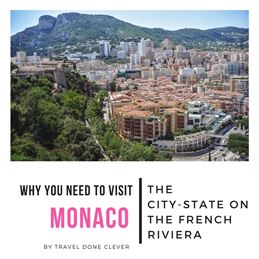 Monaco, place to visit on the French Riviera