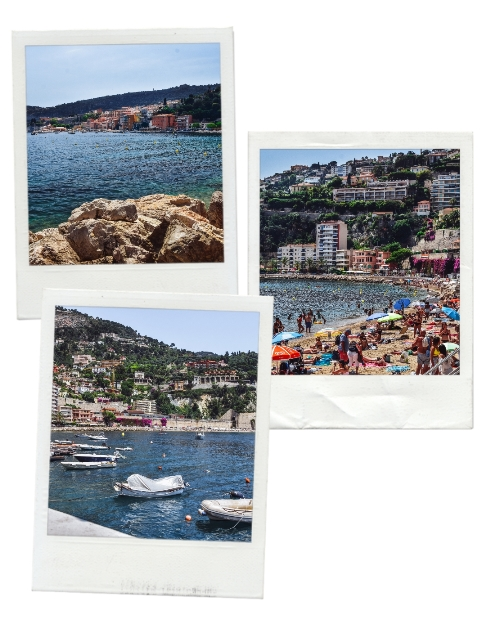 places to visit on the French Riviera: Villefranche-sur-mer is a must-see town when on the French Riviera because it is one of the most beautiful bays in the world. This charming French town has beautiful harbour and crystal clear waters.