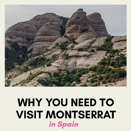 epic Montserrat in Spain