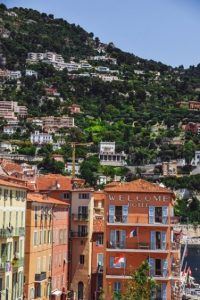 Villefranche-sur-mer near Nice: Once here, make sure you check out the old town with buildings cascading down the hillside to the waterfront.