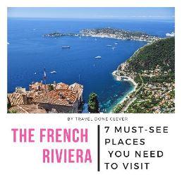 French Riviera wanderlust travel inspiration idea