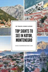 Find out how to spend 1 day in Kotor Montenegro. Discover must-have experiences in Kotor and plan your perfect city-break.