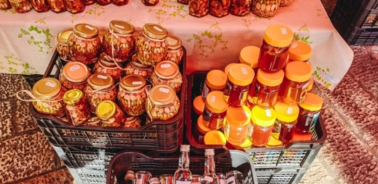 shop in market to sample some authentic Montenegrin products