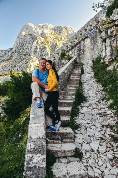 best things to do in Kotor Montenegro: Hike up St John`s Fortress in Kotor - stairs to San Giovanni Fortress, above Kotor Old Town is certainly the best thing to do in Kotor. Once you decide to visit the fort, be prepared to face hundreds of steps. Climbing the 1350 steps to the Castle of San Giovani starts with the serpentines from the east part of the town.