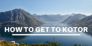 how to get to Kotor