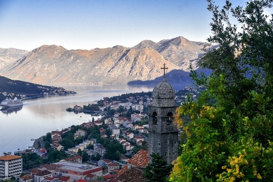 why Kotor in Montenegro needs to be your next city break: The San Giovanni fortress is a popular attraction and a totally unique thing to do in Kotor, Montenegro because this magnificent fortress located high above the town offers stunning panoramic views of the entire Kotor bay.